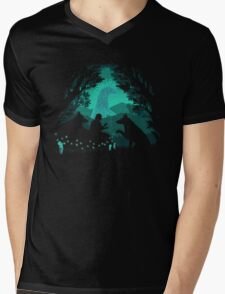Forest Dwellers Mens V-Neck T-Shirt
