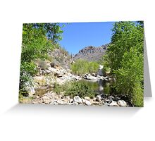 Canyon Creek Greeting Card
