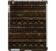 Aztec Black Tinsel Gold iPad Case/Skin