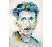 GEORGE ORWELL - watercolor portrait Photographic Print