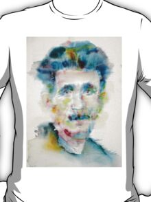 GEORGE ORWELL - watercolor portrait T-Shirt