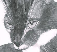 Felix the Cat Portrait by guineapiglove