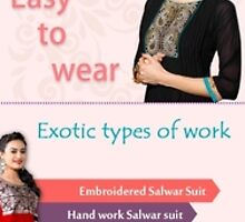 Why ladies Prefer Party wear Salwar Kameez by ethnicstation