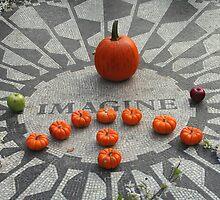 Imagine Strawberry Fields Halloween by Semmi