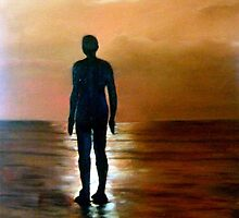 Solitude/ Oil painting by Jennib