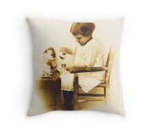 Little Gladys ~ Another Tribute To Mom Throw Pillow