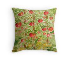 tomatos & squash Throw Pillow