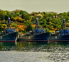 Ships of the Russian Black Sea Fleet by Jon Ayres