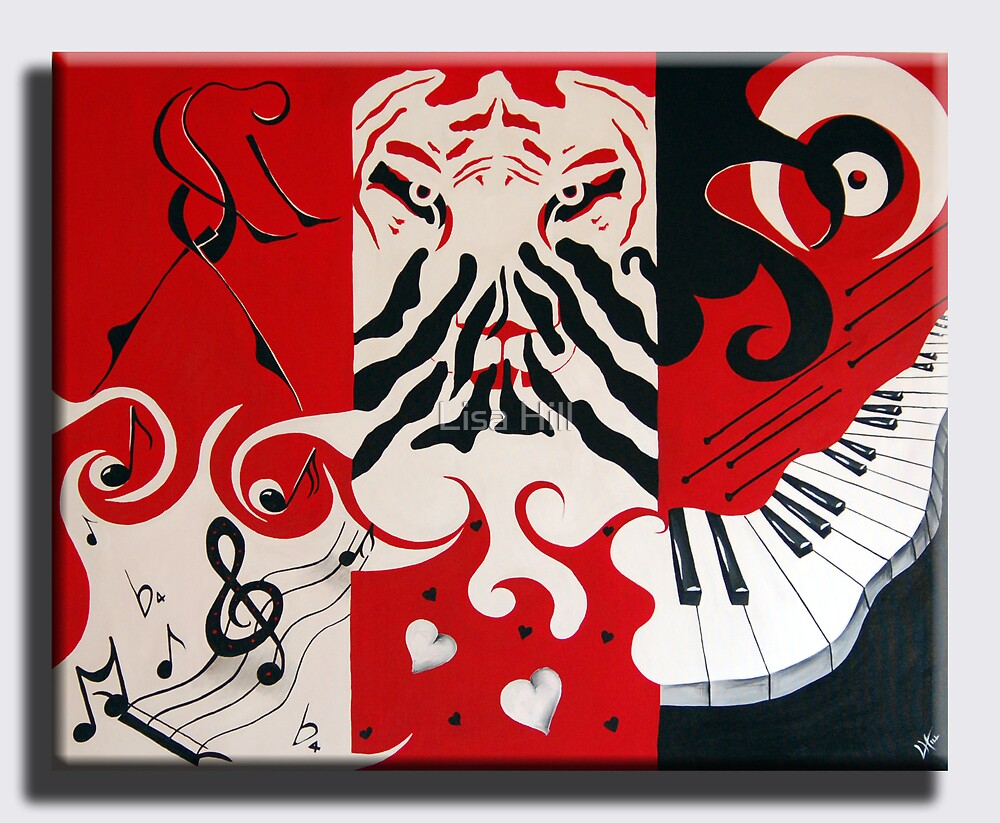 music, life, love by Lisa Hill