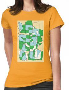 wong  tai  sin Womens Fitted T-Shirt