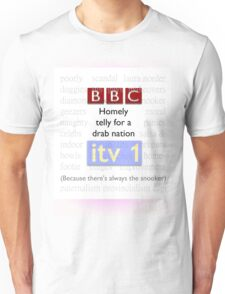 Telly for Brits Unisex T-Shirt