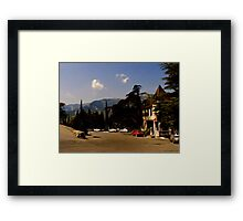 Yalta Winery Framed Print