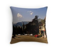 Yalta Winery Throw Pillow