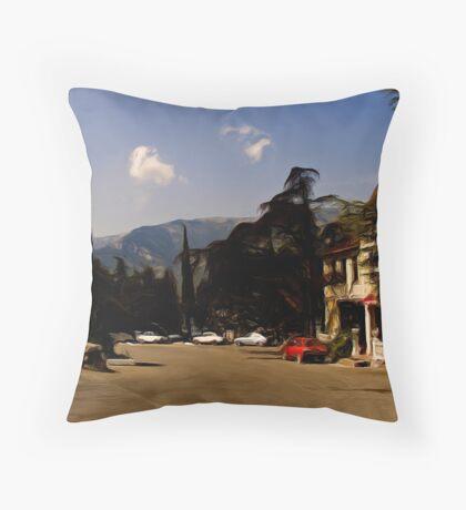 Yalta Winery Throw Pillow