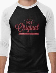 Since 1925 Original Aged To Perfection Men's Baseball ¾ T-Shirt