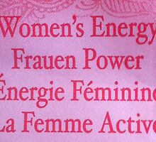 women's energy women's power feminism by calamartyjane