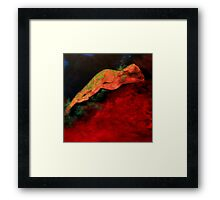 When night time falls/ Acrylic Framed Print