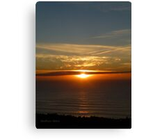 San Francisco Sunset 1422 Canvas Print