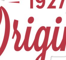 Since 1927 Original Aged To Perfection Sticker