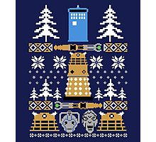 Doctor Who Ugly Sweater Photographic Print