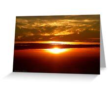 San Francisco Sunset 1423 Greeting Card