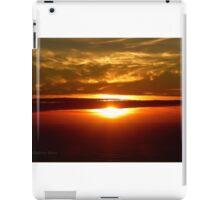 San Francisco Sunset 1423 iPad Case/Skin