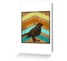Bird and Arrows Greeting Card