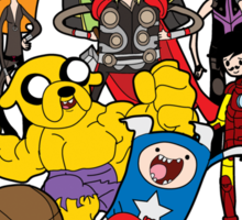 Avenger Time Sticker