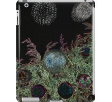 Merry Christmas with firework  iPad Case/Skin