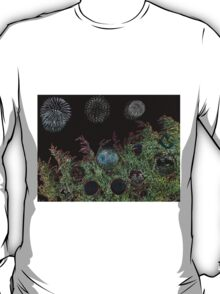 Merry Christmas with firework  T-Shirt