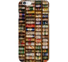 Beer Can collection iPhone Case/Skin