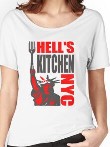 Hell's Kitchen Liberty NYC Women's Relaxed Fit T-Shirt
