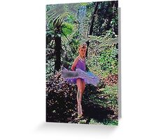 A Fairy in My Garden Greeting Card