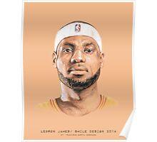 NBA Players Series / Smile Design 2014 Poster