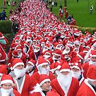 Santa Fun Run by Steven McEwan