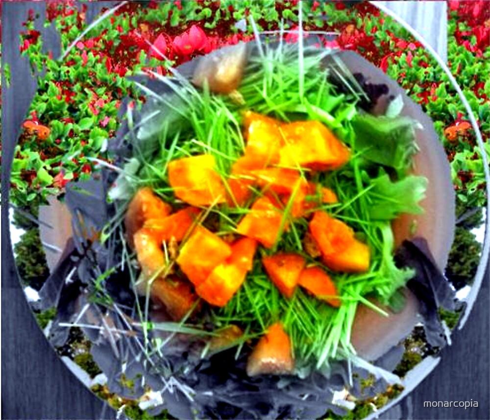 Garden Plate by monarcopia