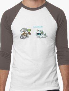 Eve zombie (plant) Men's Baseball ¾ T-Shirt