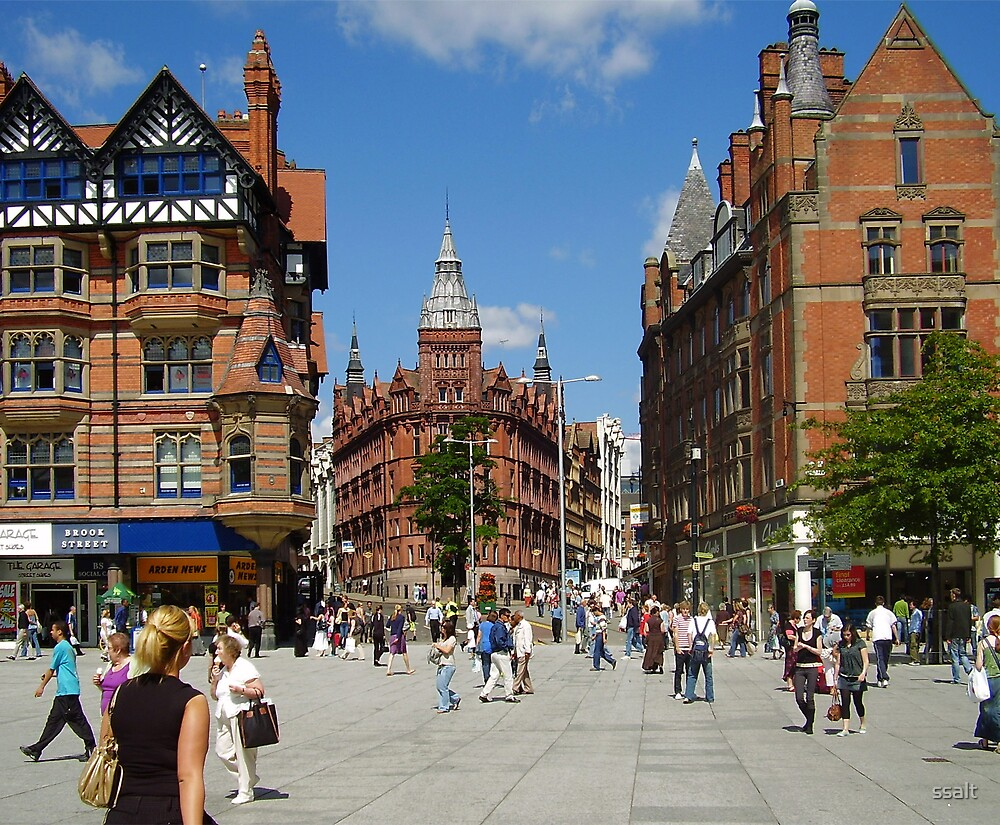 Nottingham Square by ssalt