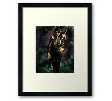 RavenShield the Slayer Framed Print