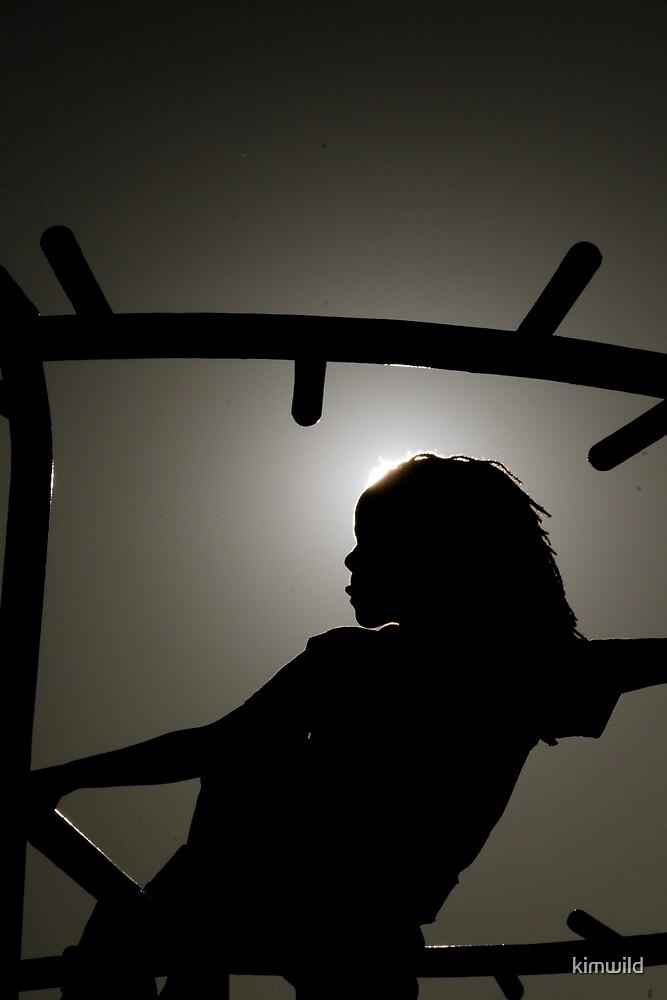 Child Silhouette by kimwild