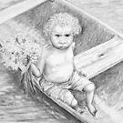 Little Sulky Flower Girl by ssalt
