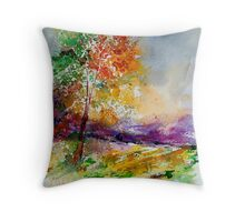 watercolor 100507 Throw Pillow