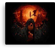 Hobbit nightmare Canvas Print