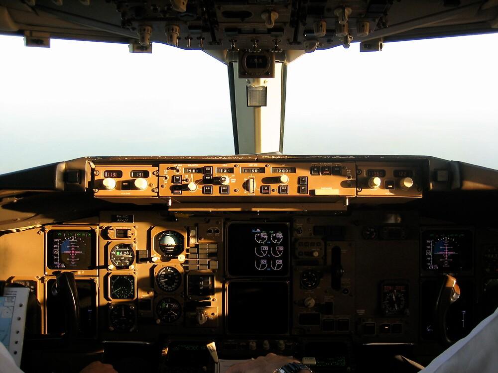 Flight Deck B767-300 by Rudolf