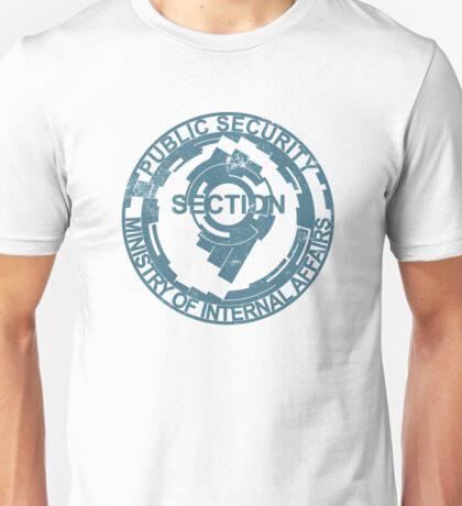 Section 9 Logo - Blue Washed Unisex T-Shirt