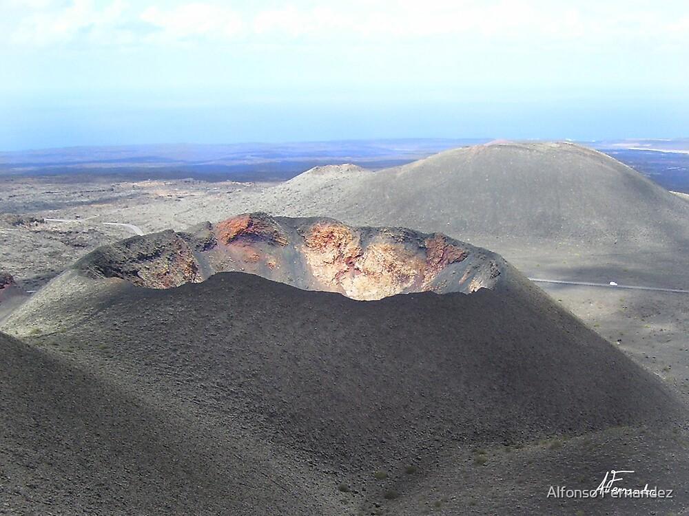 Volcano by Alfonso Fernandez