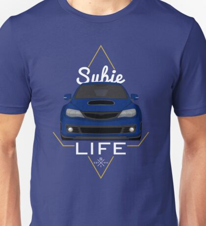 Subie life Blue Unisex T-Shirt
