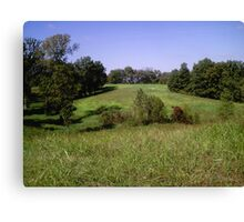 Tennessee countryside Canvas Print
