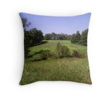 Tennessee countryside Throw Pillow