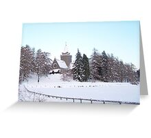 Crathes Kirk - Balmoral - Scotland Greeting Card